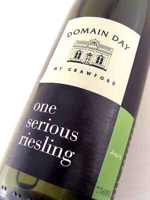 2009 DOMAINE DAY One Serious Riesling Isle of Wine • AUD 26.95
