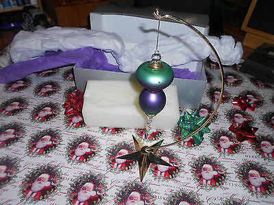 Dept 56 Stand/Hanger and Hanging Ornament