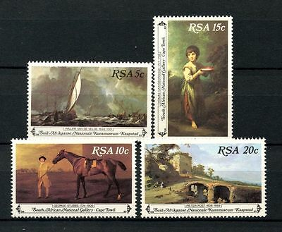 South Africa 1980 SG#481-4 Paintings MNH Set #A27839