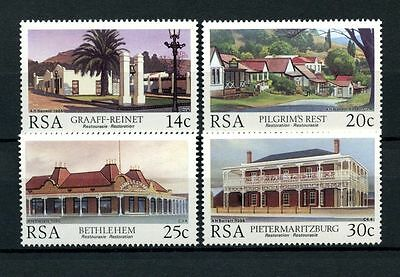 South Africa 1986 SG#600-3 Historic Buildings MNH Set #A27879