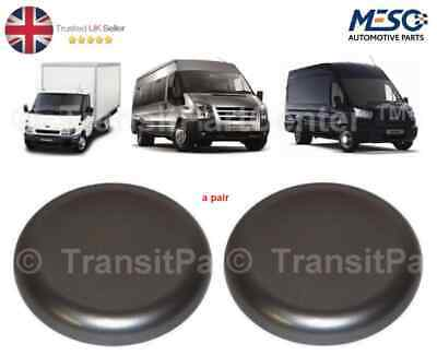 Pair Of Front Wheel Centre Trims Cap Fits Ford Transit Mk6 Mk7 Mk8 Twin Rear Whl