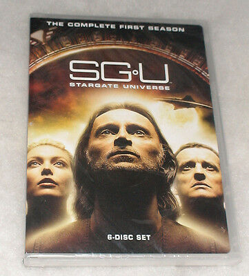 SGU: Stargate Universe Complete Season 1 One DVD Box Set - BRAND NEW & SEALED