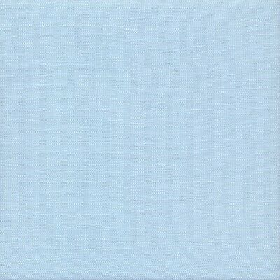Zweigart 32ct Belfast Linen Cross Stitch Fabric Fat Quarter 562 Baby Blue