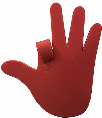 The Adjustable Giant Foam Hand  Make up your own hand signs