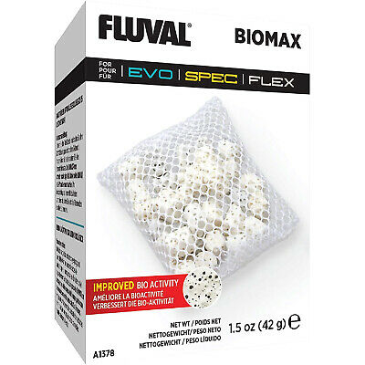 FLUVAL SPEC STAGE 3 BIOMAX 60g A1378 FISH TANK AQUARIUM BIOLOGICAL MEDIA