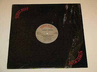 """LADIES CHOICE girls night out 12"""" RECORD ARTHUR BAKER 1983"""