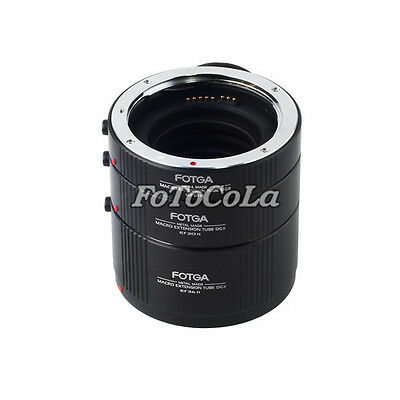 Fotga Metal automatic macro extension tube 13mm+20mm+36mm set for Canon EF EF-S
