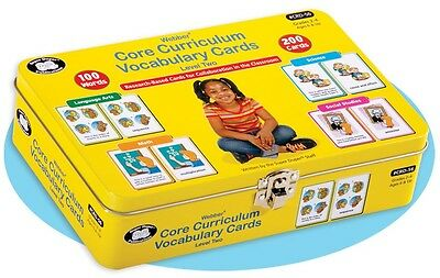 Core Curriculum Vocabulary Flash Cards Level 2 by Super Duper Publications
