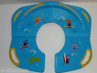 Foldable The Backyardigans Toddler Potty Toilet Training Seat Easy Clean