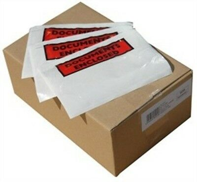 Document Enclosed Envelope Wallets - A7 A6 A5 Printed Or Plain Slips Doc