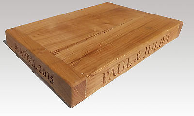 Solid oak Bread board