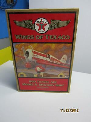 "Wings Of Texaco 1930 Travel Air Model R ""Mystery Ship"" 5th in the series Bank"