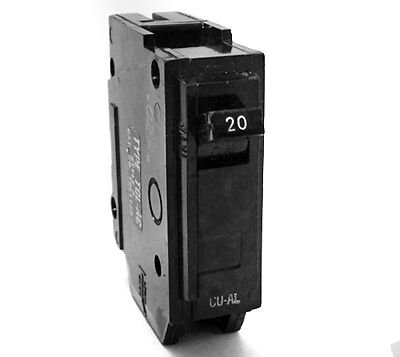 General Electric GE THQL1120 20A 1-Pole 120V Circuit Breaker