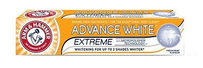 Arm Hammer ADVANCE WHITE ™ EXTREME MicroPolisher Tech Whitening Soda Toothpaste
