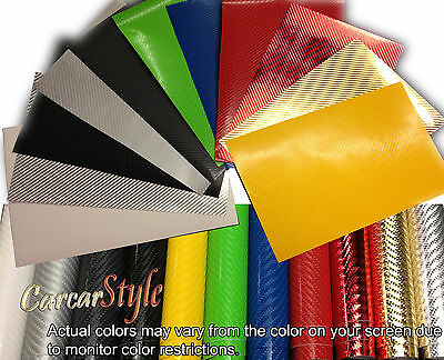 4D GLOSS【300mm(11.8in) x 1520mm(59.8in) AIR Free Carbon Fibre Vinyl】Wrap Film