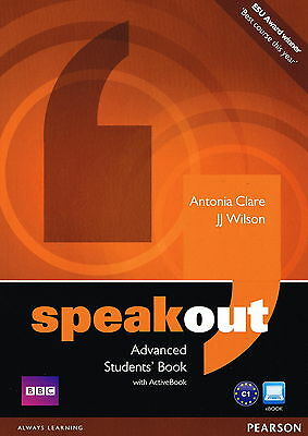 SPEAKOUT Advanced Students' Book with DVD/ActiveBook | A Clare JJ Wilson @NEW@