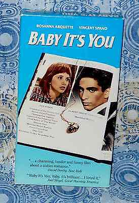 Baby It's You VHS Vincent Spano Rosanna Arquette Tracy Pollan cross-class relat'