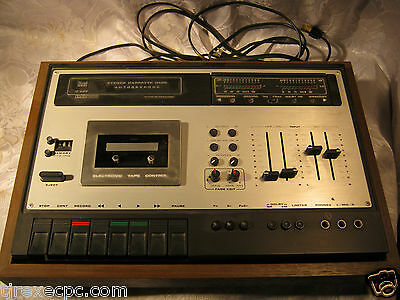 Dual C 939 Cassette deck Made in Germany Vintage audio Electronics parts as is