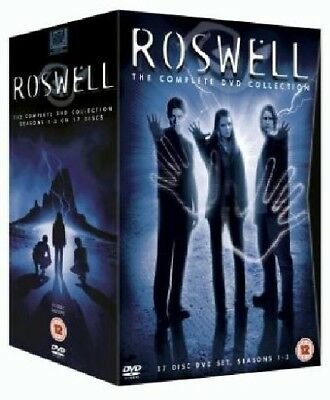 ROSWELL 1-3 (1999-2002) The COMPLETE SciFi Drama TV Seasons Series R2 DVD not US