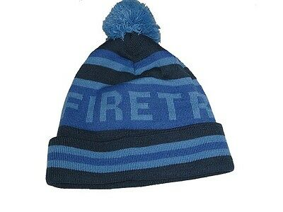 54c1c4873d1 Heren  accessoires MENS GREY MARL FIRETRAP CABLE DOCK HAT KNIT KNITTED SKI  SKIING BOBBLE BEANIE HAT