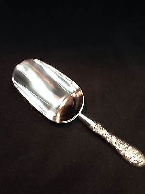 Stieff Rose By Stieff Sterling Handled Ice Scoop
