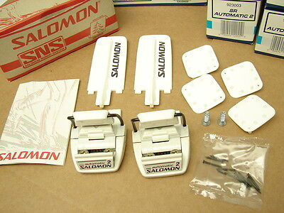 New Salomon SR Automatic 2 Cross Country Ski Bindings SNS Binding 923003