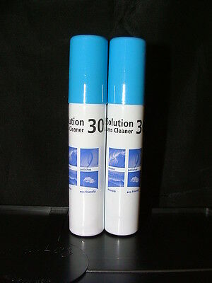 2 x Solution 30 Lens Cleaner 25ml