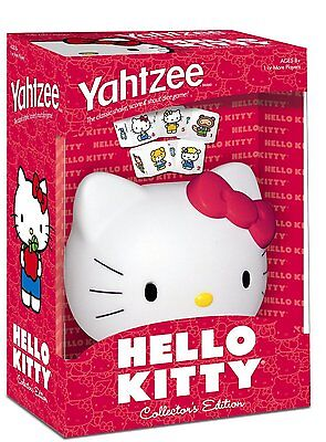 Hello Kitty Yahtzee Classic  Board Game Collector's Edition - Rare