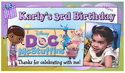 12 DOC McSTUFFINS PARTY FAVORS PHOTO MAGNETS