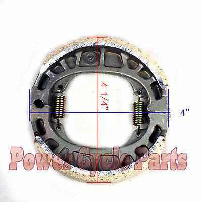 BRAKE PAD SHOE MINI BAJA 196cc 5.5HP 6.5Hp MB165 HAWG TY MINI BIKE WARRIOR HEAT