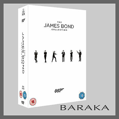 Bond 50 James Bond 007 Complete Collection DVD Box Set 23 Discs films