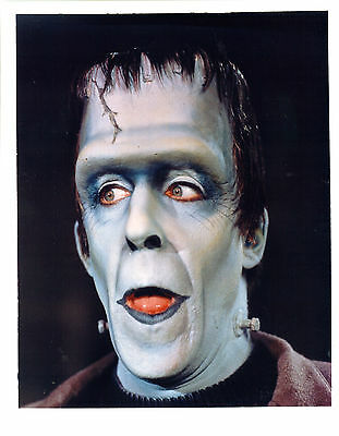 The Munsters Fred Gwynne As Herman Munster Great Photo