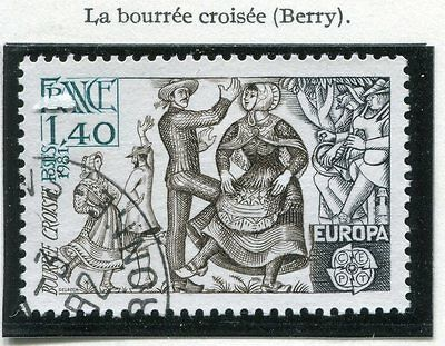 Stamp / Timbre France Oblitere N° 2138 Europa Folklore