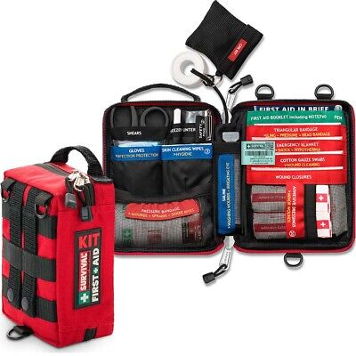 Survival HANDY First Aid KIT - car, handbag, luggage, school bag, sports bag