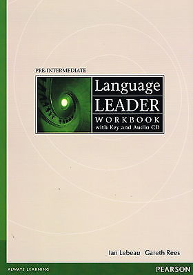 LANGUAGE LEADER Pre-Intermediate Workbook with Key & Audio CD @NEW BOOK@