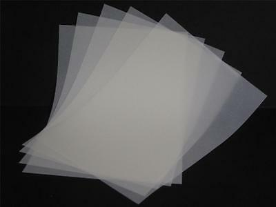20 x Vellum Translucent Tracing Paper inserts for A6 Cards 110gsm 144 x 206mm