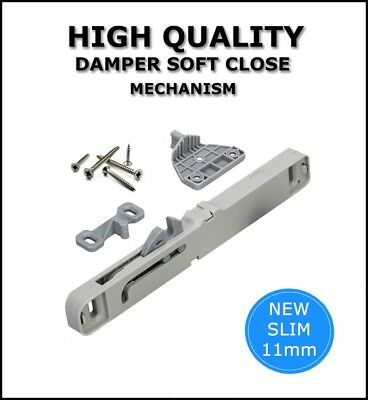 Soft Close Mechanism Damper For All Roller Runners And Metal Box Drawers D-03