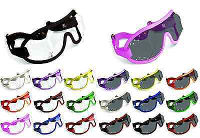 Kroops Racing Jockey Goggles Punch Vented | Clear/Tinted | FREE UK Delivery