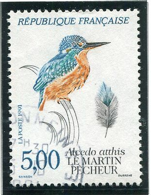 Stamp / Timbre France Oblitere N° 2724 Faune Martin Pecheur