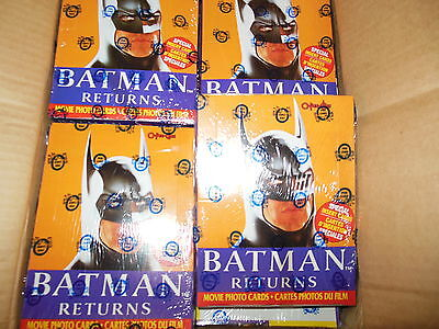 UNOPENED 1992 O-PEE-CHEE OPC BATMAN RETURNS WAX BOX - FACTORY SEALED - 36 Packs