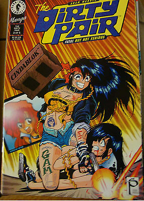 DIRTY PAIR : FATAL BUT NO SERIOUS n° 3 ( Dark horse ) 1995