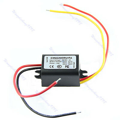 2014 New Waterproof DC/DC Converter 12V Down to 9V 3A 15W Power Supply Module