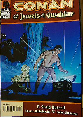 CONAN AND THE JEWELS OF GWAHLUR n° 3 ( Dark horse)de Craig Russell