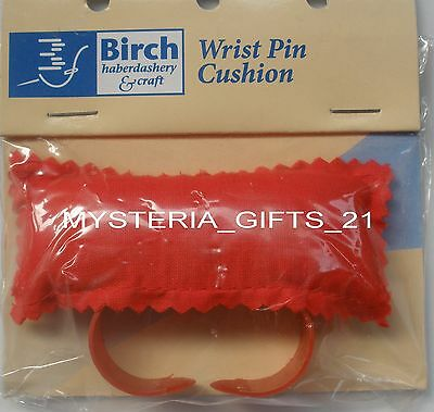 Wrist Pin Cushion Red*ideal For Dressmaker