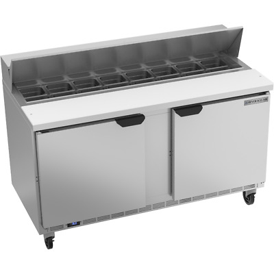 Beverage-Air Bev Air SPE60HC-16 Refrigerated Food Prep Table Elite Series