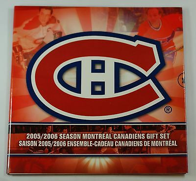 2005-06 Canada Hockey Montreal Canadiens Uncirculated 7 Coin Gift Set