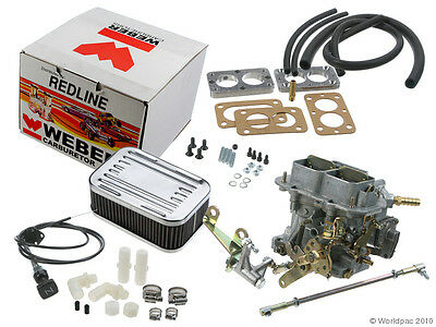 UNIVERSAL WEBER DGV carb install kit with linkage+adapter+