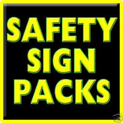 Site Safety Signs (Starter Pack 14 Signs)