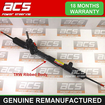 VAUXHALL ZAFIRA MK1 POWER STEERING RACK 1999 TO 2005 -RECONDITIONED (TRW Ribbed)