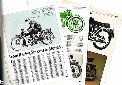Old GARELLI (Italy) MOTORCYCLE Article/Photos/Picture's